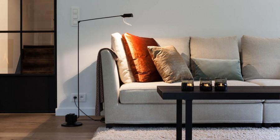 kussens, tapijt, salontafel