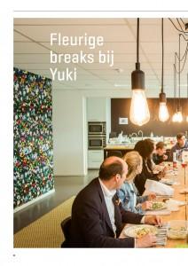 Bojoli: gezellig tafelen bij Yuki